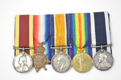 Lot 3-Royal Navy Long Service and Good Conduct group