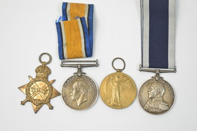 Lot 7-Royal Navy Long Service and Good Conduct group