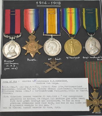 Lot 177-Distinguished Conduct Medal Group