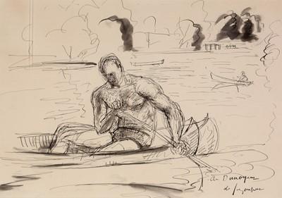 Lot 226 - Andre de Segonzac - drawing.