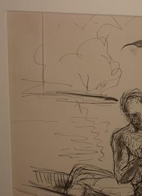 Lot 291-Andre de Segonzac - drawing.