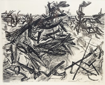 Lot 155 - Anthony Gross - etching.