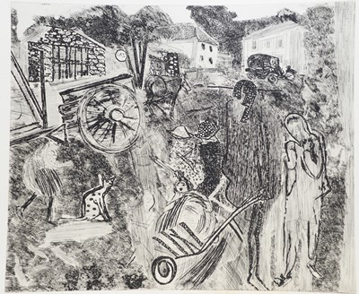 Lot 156 - Anthony Gross - etching.