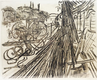 Lot 157 - Anthony Gross - etching.