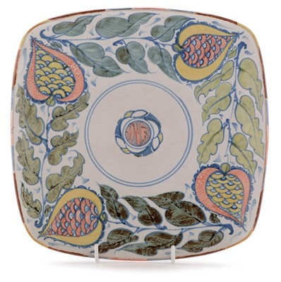 Lot 1105-Edgar Campden - Aldermaston Pottery dish