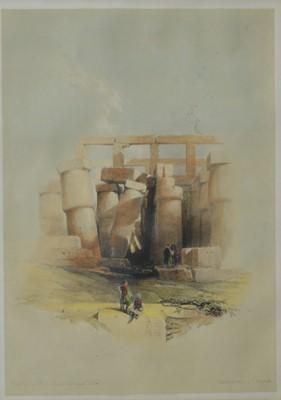 Lot 855 - David Roberts - lithograph.