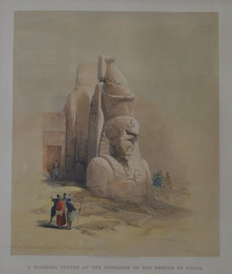 Lot 856 - David Roberts - lithograph.