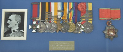 Lot 241-Important Northumberland Fusiliers DSO Group