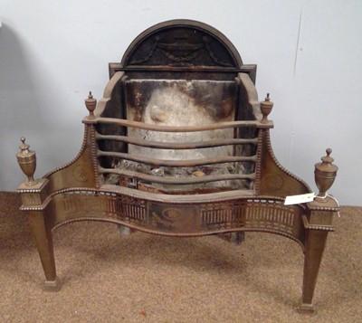 Lot 539 - 19th Century fire basket