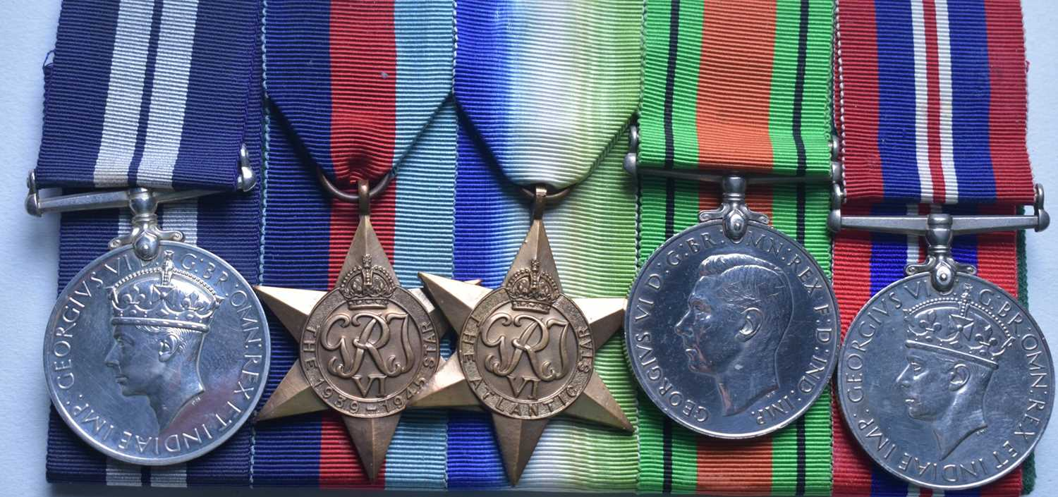 304 - WWII Distinguished Service Medal group
