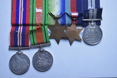 Lot 304 - WWII Distinguished Service Medal group
