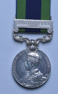 Lot 311-India General Service Medal