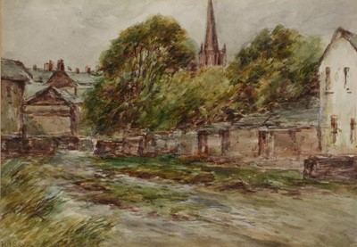 Lot 859 - Harry James Sticks - watercolour.