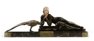 Lot 1272 - Menneville Art Deco Sculpture