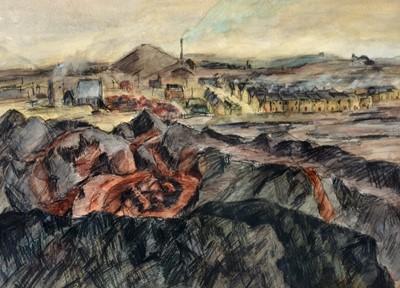 Lot 299-Richard Charles Hobson - watercolour.
