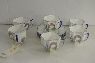 Lot 529 - Shelley tea set