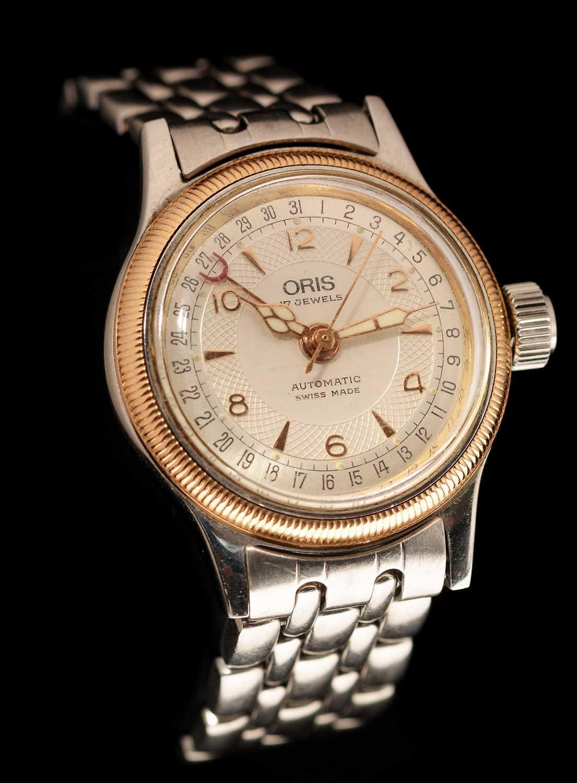 Lot 18-Oris Calendar automatic watch