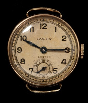 Lot 19-9k gold Rolex lady's cocktail watch