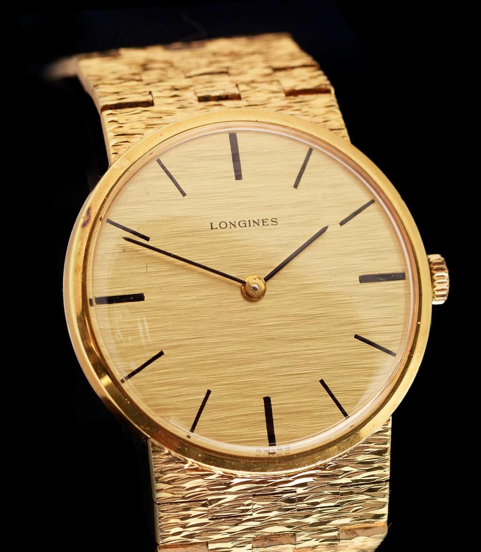 Lot 22-Longines lady's watch