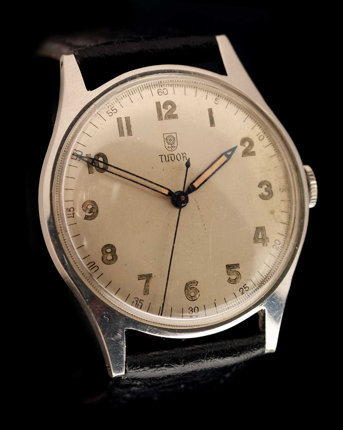 Lot 23-Tudor manual wind wristwatch