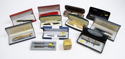 Lot 116 - Assortment of pens, various.