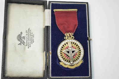 Lot 363-Masonic medal