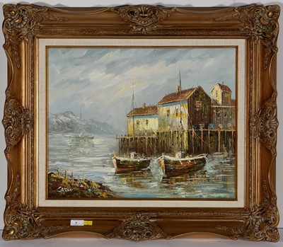 Lot 7-* Caron - oil.