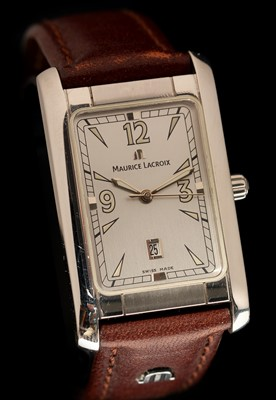 Lot 31-Maurice Lacroix gents watch