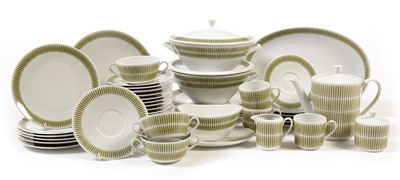 Lot 1103A-Bavarian Mid century tea, coffee and dinner service