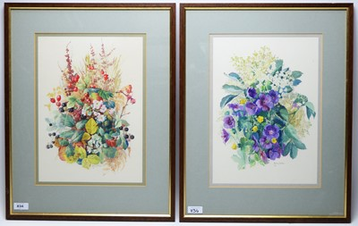 Lot 834 - Henry Holzer - watercolours
