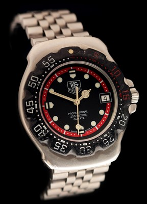Lot 27-Tag Heuer  Professional