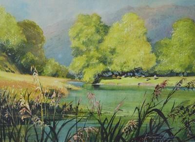 Lot 877 - Vivienne Pooley - watercolour