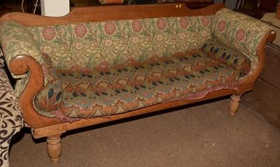Lot 625 - Late 19th Century sofa