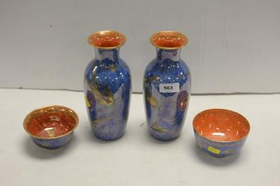 Lot 563 - Wedgwood lustreware