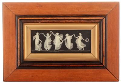 Lot 493 - Wedgwood jasperware plaque