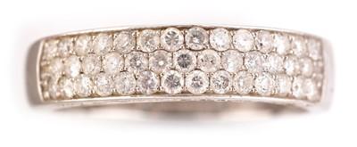 Lot 52-A diamond ring