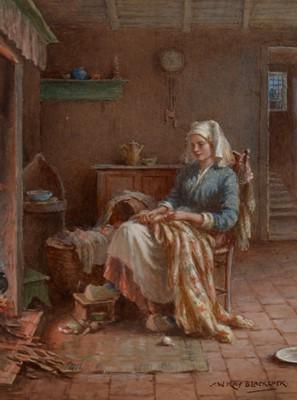 Lot 292-William Kay Blacklock - watercolour.