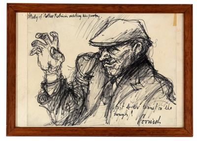 Lot 309-Norman Stansfield Cornish - watercolour.