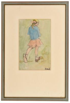 Lot 310-Norman Stansfield Cornish - watercolour.