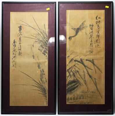 Lot 280 - Chinese School - watercolours.
