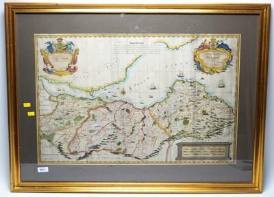 Lot 803 - John Elphinstone - Antique map of Scotland.