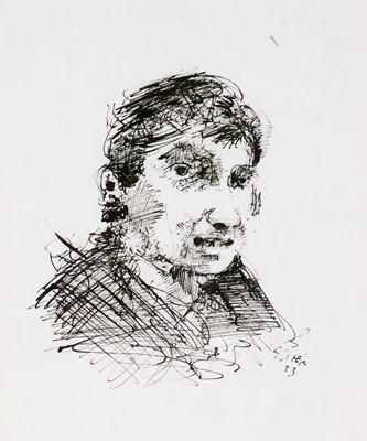 Lot 290-Antoni Sulek - watercolor.