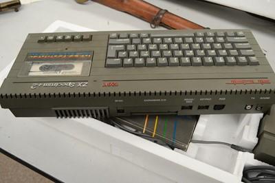 Lot 782 - A vintage Sinclair 128K ZX Spectrum computer and accessory joystick.