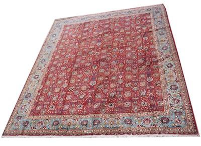 Lot 630A - A tabriz carpet