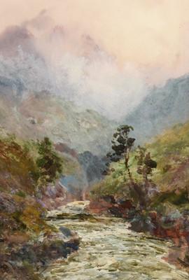 Lot 303-John Falconar Slater - watercolour.