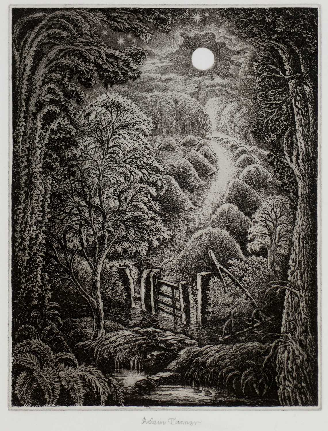 Lot 272-Robin Tanner - etching.