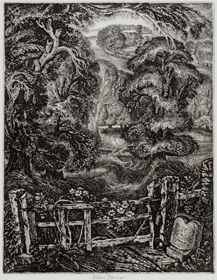 Lot 273-Robin Tanner - etching.