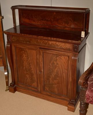 Lot 697 - Victorian mahogany chiffonier
