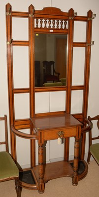 Lot 715 - Early 20th Century hallstand