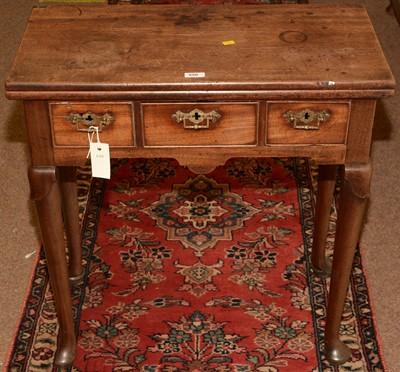 Lot 550 - 19th Century mahogany tea table